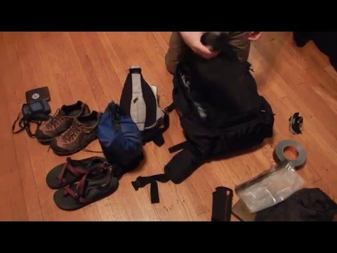 Packing for Long Term World Travel