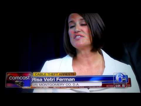 Comcast Cable Theft Arrest: WPVI Action News
