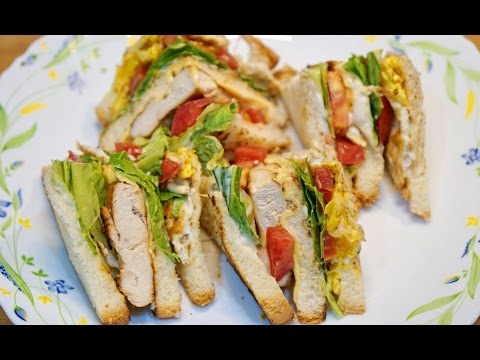 CHICKEN & EGG CLUB SANDWICH RECIPE