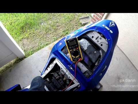 Motorcycle Charging System Fix