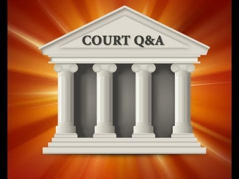 Court Q & A - Child Custody Mediation
