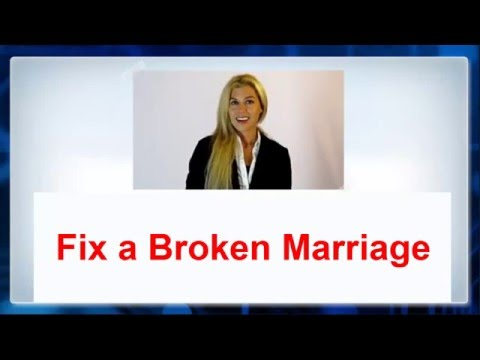 ★ Way to Fix a Broken Marriage without counseling