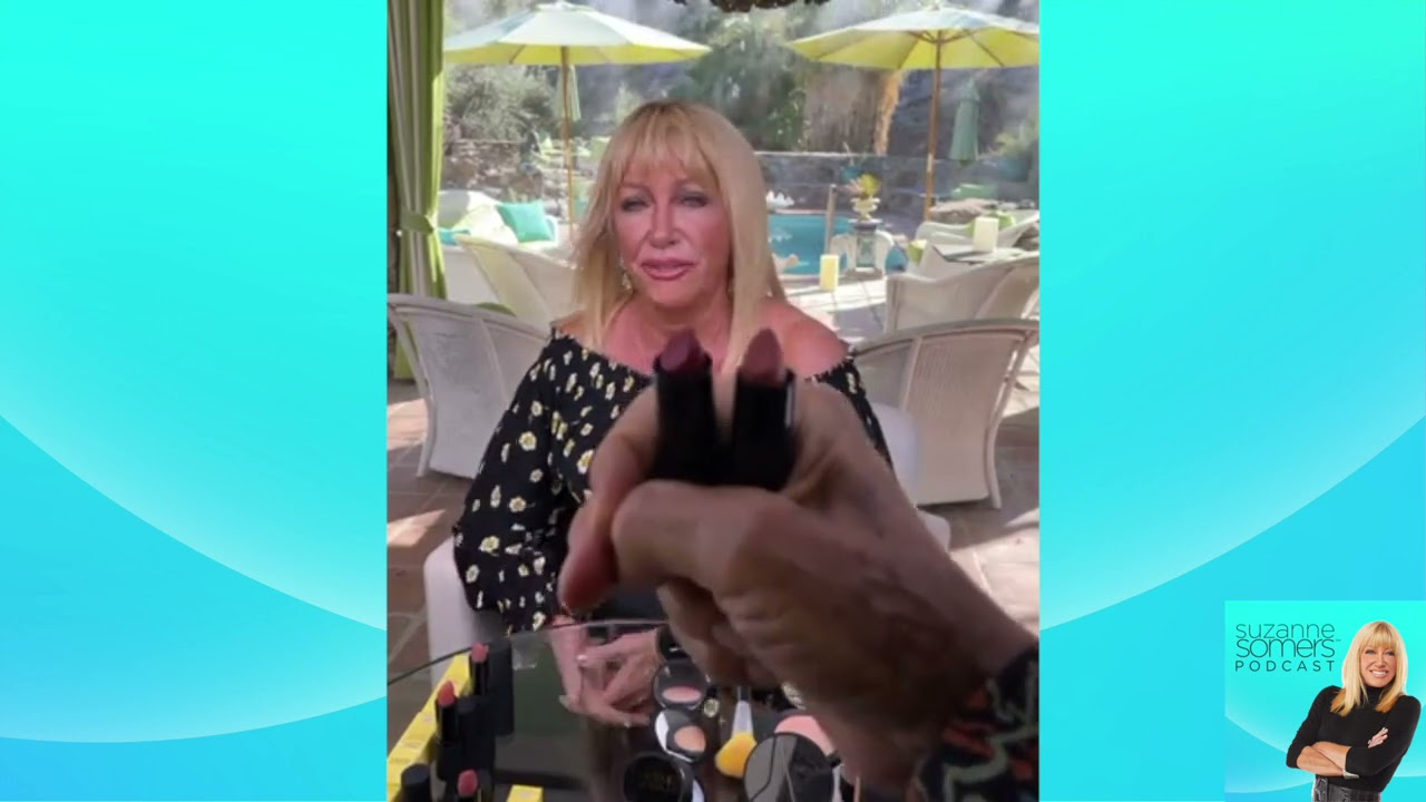 How Cosmetics can be good for you - The Suzanne Somers Podcast