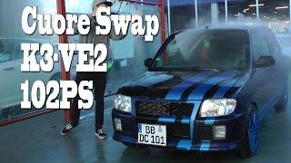 Daihatsu Cuore Engineswap Test, Erfahrung, 0-100