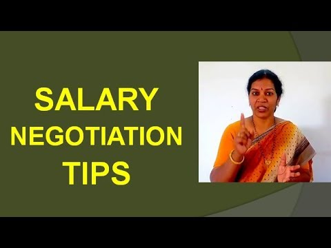Salary Negotiation Skills