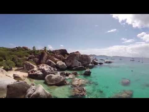 DJI Phantom 2 at the Baths, Virgin Gorda, British Virgin Islands