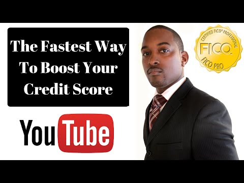 The Fastest Way To Build/Boost Your FICO Credit Score In 2018 For Credit Cards Or Limit Increase Etc