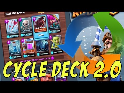 HOG CYCLE DECK 2.0 - FASTER & BETTER [Clash Royale Strategy]