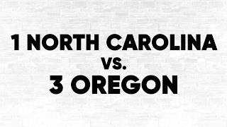 (1) UNC vs. (3) Oregon