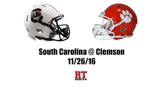 South Carolina Gamecocks at Clemson Tigers in 30 Minutes - 11/26/16