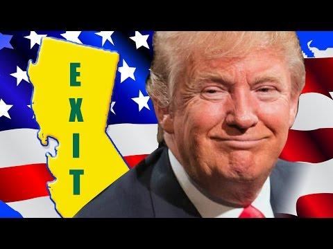 California Hates Trump: Should Lefty Liberals Leave the U.S.