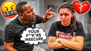 """Calling My Wife """"INSECURE"""" PRANK To See Her Reaction...*NEVER AGAIN*"""