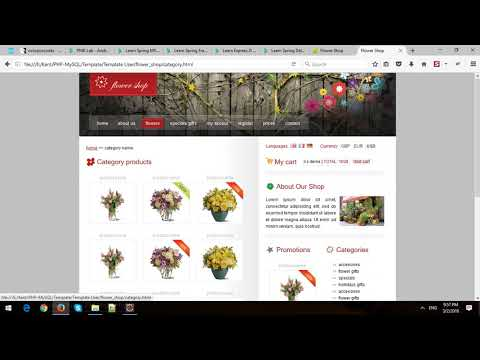 Building eCommerce Store Using Spring MVC and Spring Data JPA in Spring Boot - Part 7 - Cart