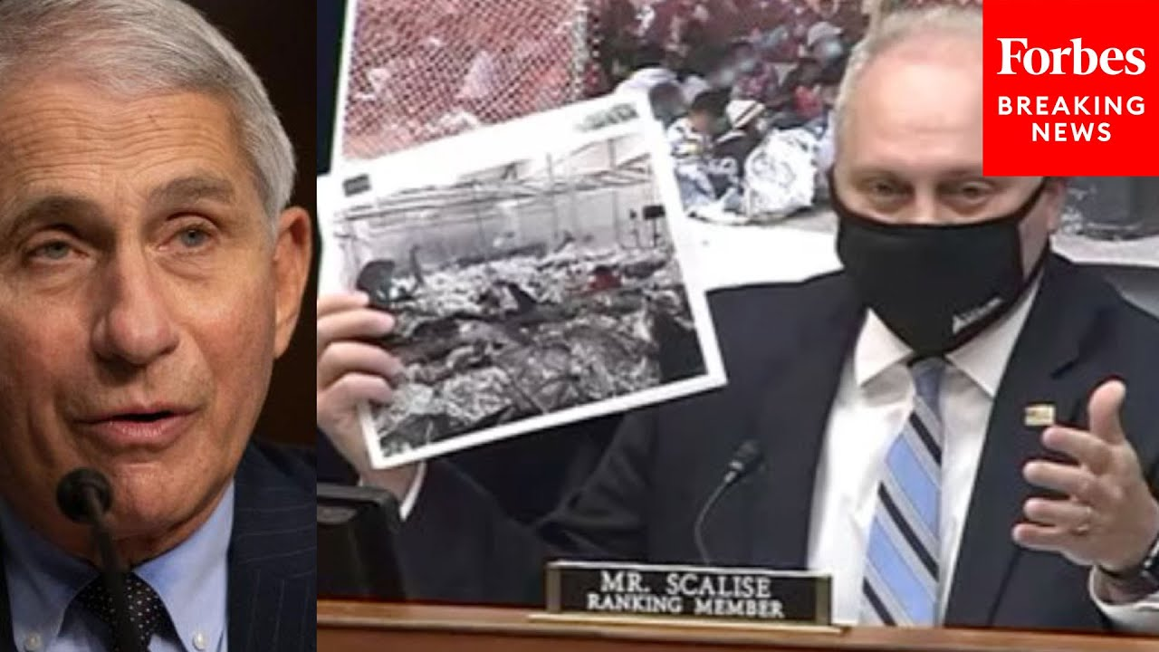 """Scalise Confronts Fauci With Migrant Detention Pics: """"Does this look like social distancing to you?"""""""