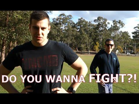 FIGHT ME PRANK - Backfired!