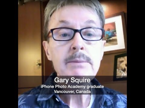 Gary Squire Reviews iPhone Photo Academy