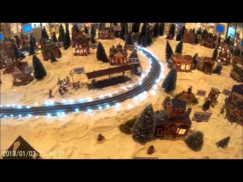 A Christmas Village - sj4000 Test Video