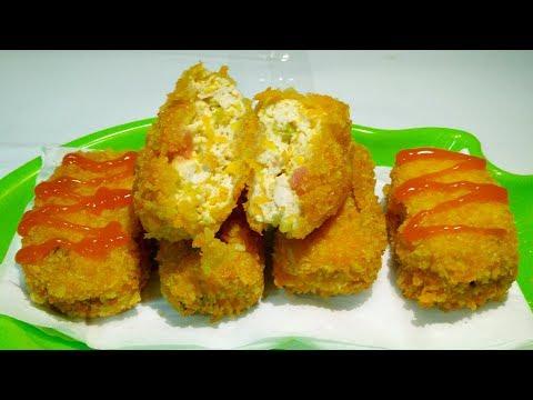 Nugget Tahu Crispy - Aneka Masakan Tahu
