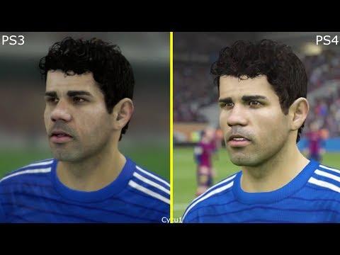 FIFA 15 PS3 vs PS4 Chelsea London Graphics Comparison