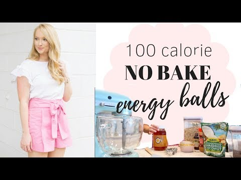 Healthy Snack: No Baked Energy Balls