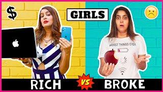 Girls - RICH vs NORMAL | Anisha Dixit