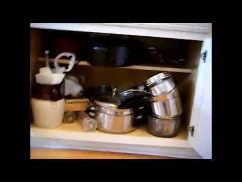Organizing the Kitchen - Pots and Pans Cabinet