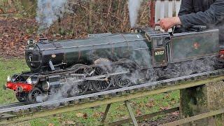 5 inch Gauge LMS Black 5 5407 - Live Steam Locomotive - Sir
