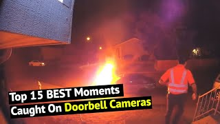 Top 15 Funny Doorbell Camera Moments