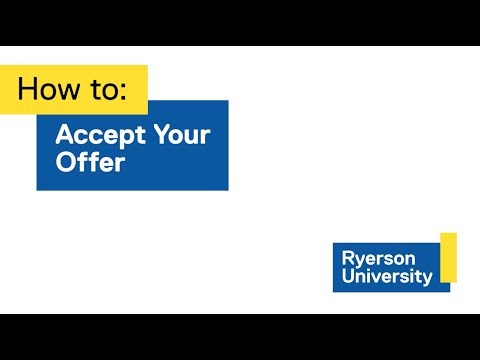 How to: Accept Your Offer