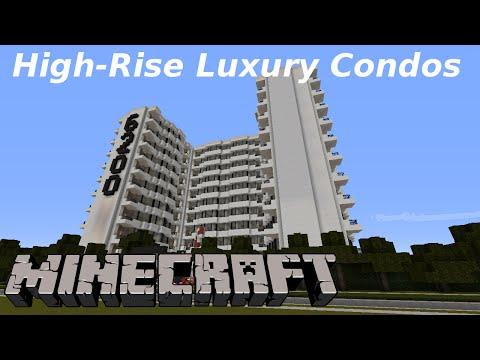 Minecraft: Luxury Highrise Condos (SuburbCraft Ep. 100)