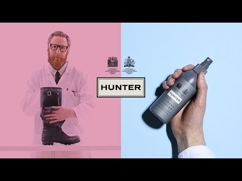Hunter How-To:  How To Clean Your Hunter Boots