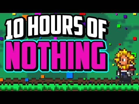 Standing at Spawn For 10 Hours Gets You This Loot In Terraria
