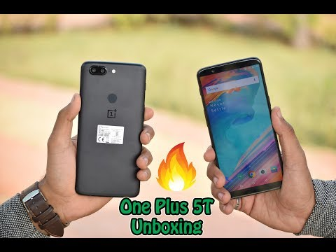 One Plus 5T Unboxing After SomeTime 😍🔥