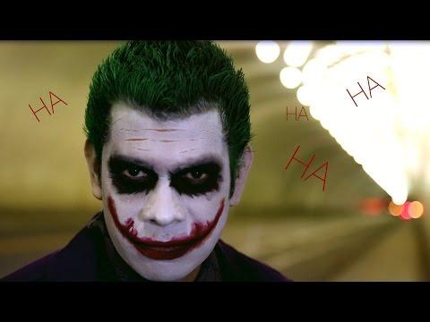 The Joker Cosplay - Makeup Tutorial