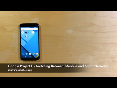 Google Project Fi - Switching Between T-Mobile and Sprint Networks