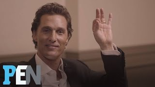 Matthew McConaughey Reveals Which Of His Female Costars He Really Had A Crush On   PEN   People