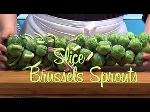 How to Trim and Slice Brussels Sprouts