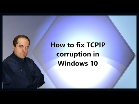 How to fix TCPIP corruption in Windows 10
