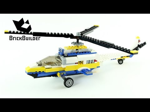 Lego Creator 31011 Helicopter - Lego Speed Build