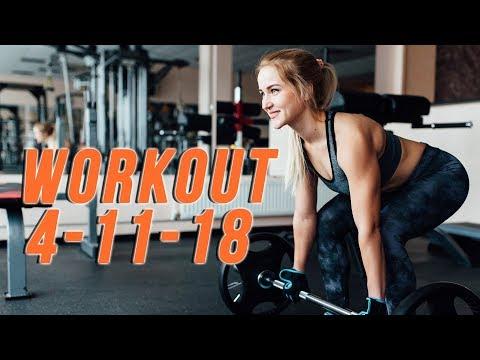 Workout 4-11-18