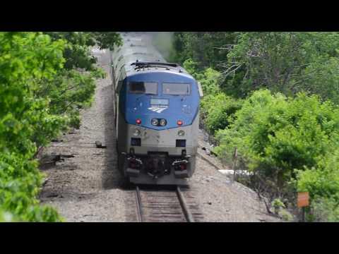 Amtrak Downeaster Cruises through Durham, NH