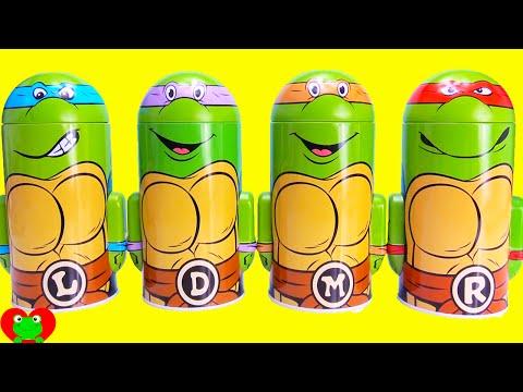Teenage Mutant Ninja Turtle Coin Banks with Surprises