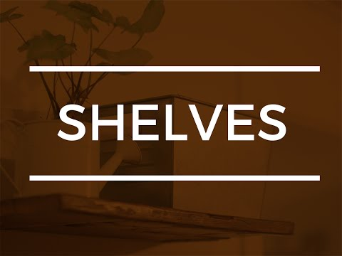 How to make Shelves with Reclaimed Wood - DIY