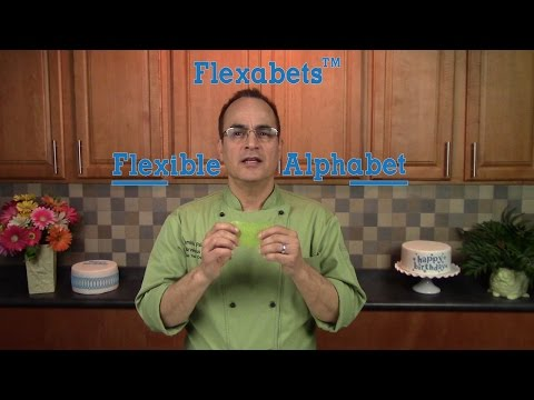 Cake Decorating: Make Letters & Inscribe Cakes Easily with Flexabets