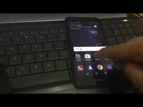 Huawei P10 Lite 2017 Hard reset // Locked screen unlock (Factory Reset)