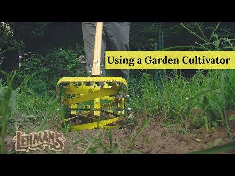 Using a Garden Cultivator