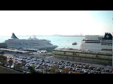 Venice Cruise Ship terminal (Video 3) by jonfromqueens