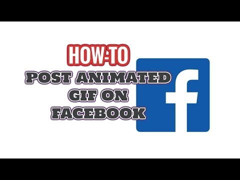 How to Post Animated GIF on Facebook Timeline | 100% Working