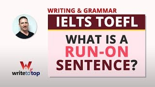 What Is a Run-on Sentence? (Writing and Grammar)