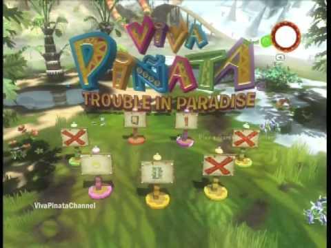 Viva Pinata: Trouble in Paradise Walkthrough Pt 1 - Tutorial